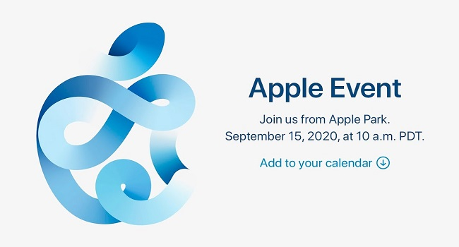 15 September Apple Event
