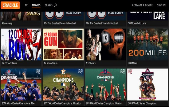 Crackle Movies Download