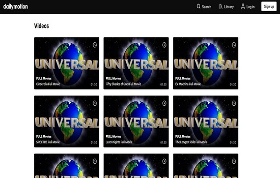 Dailymotion Movies Download