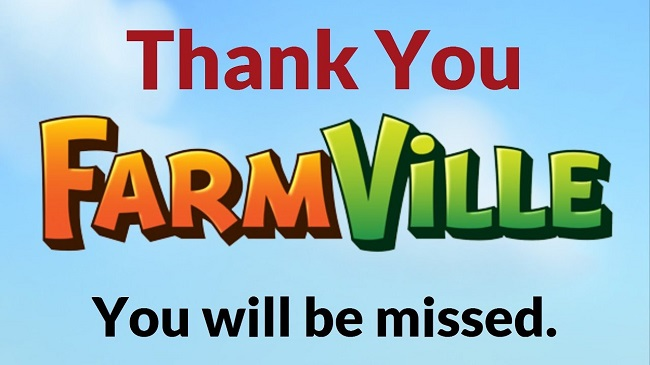 FarmVille Shutting Down