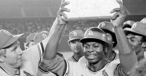 Hall of Fremer Lou Brock