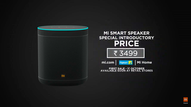 Mi Smart Speaker Launched