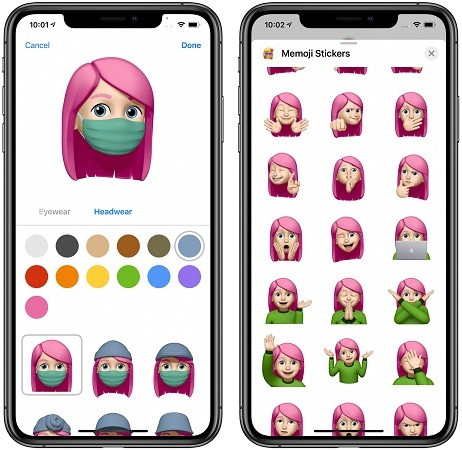iOS 14 New Memoji