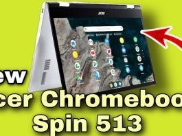 Acer's First Chromebook Spin 513