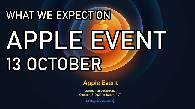 Apple Event 13 October Predections
