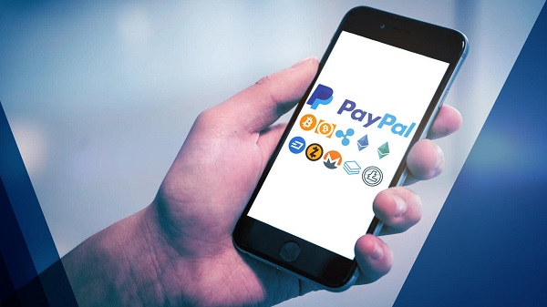 Hold Cryptocurrencies In Online PayPal Wallet