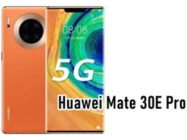 Huawei Mate 30E Launched