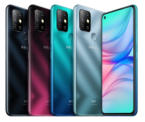 Infinix Hot 10 Colors