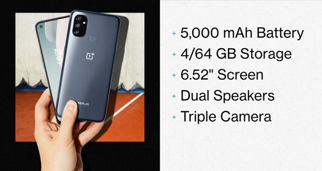 OnePlus Nord N10, Nord N100 Features