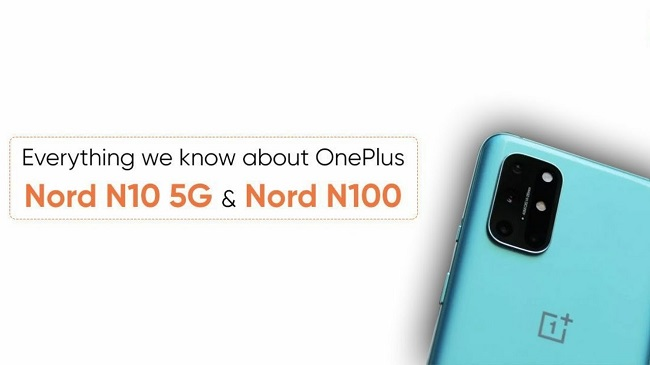 OnePlus Nord N10 Nord N100 Launched
