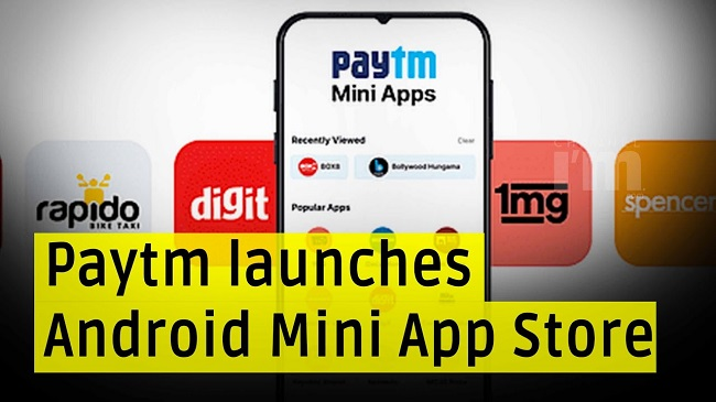 Paytm Mini App Store Launched