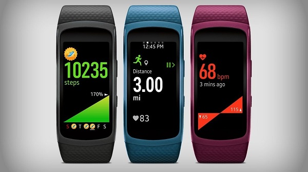 Samsung Galaxy Fit 2 Colors