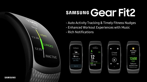 Samsung Galaxy Fit 2 Features