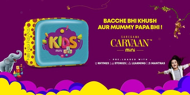 Saregama Carvaan Mini Kids Speaker