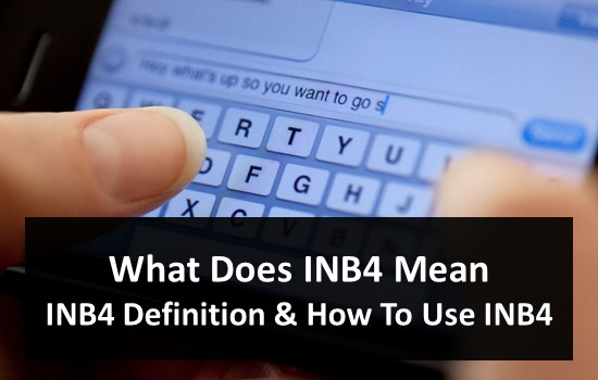 What Does INB4 Mean