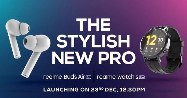 Realme Watch S Series, Buds Air Pro Master Edition