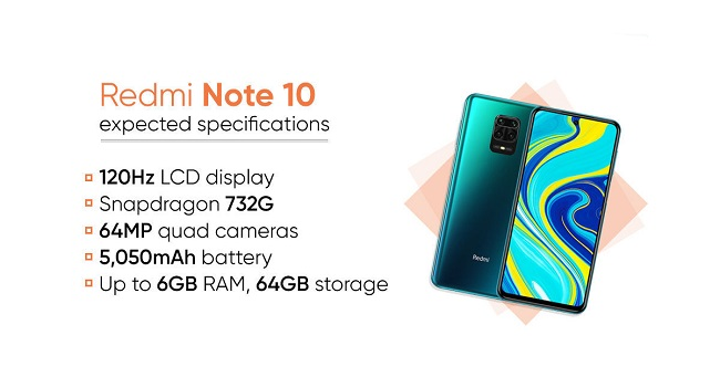 Redmi Note 10 Series Specifications
