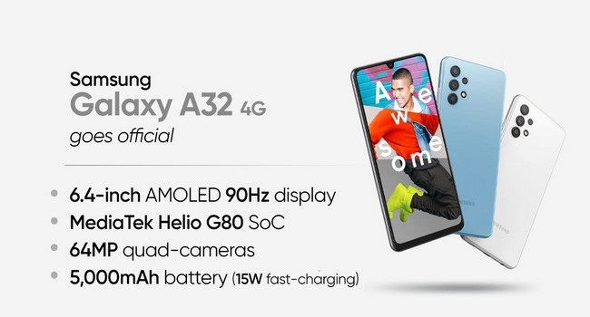 Samsung Galaxy A32 Specifications