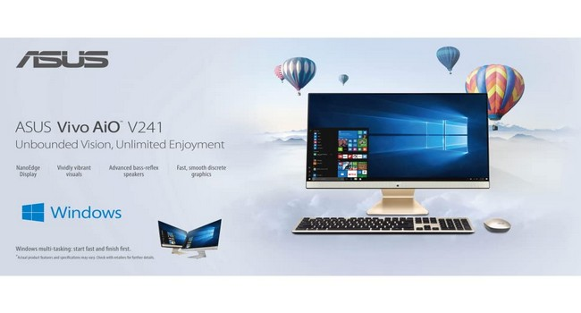 Asus AiO V241 All-In-One Desktop Features