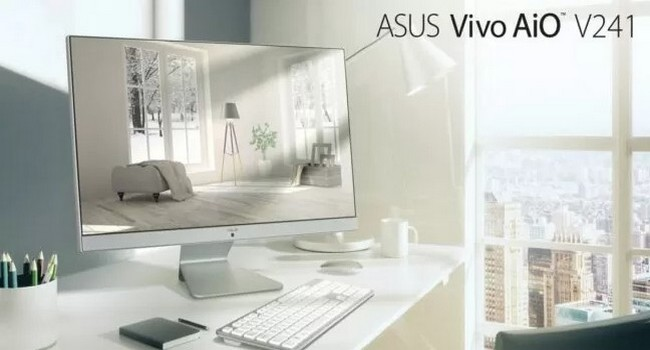 Asus AiO V241 All-In-One Desktop Launched