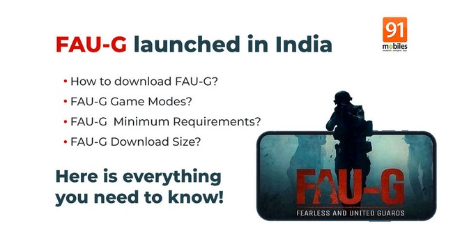 FAUG For iOS Launched