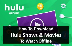 download hulu shows