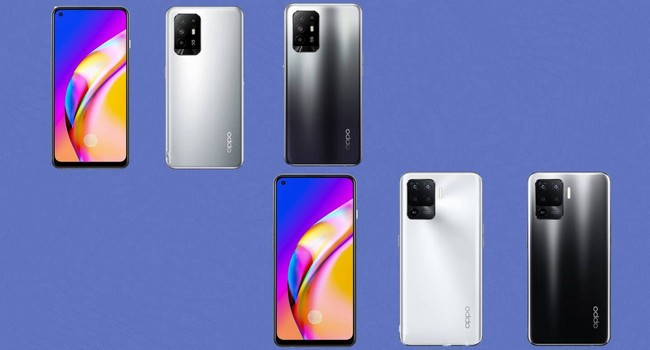 Oppo F19 Pro+ 5G Colors