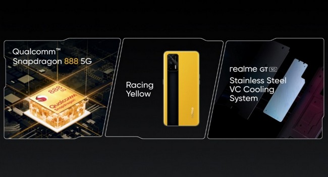 Realme GT 5G Features