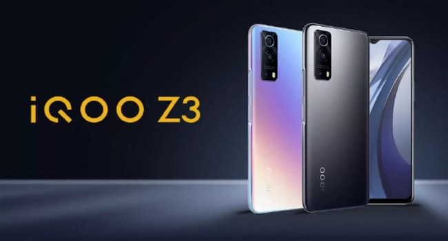 iQOO Z3 Launched