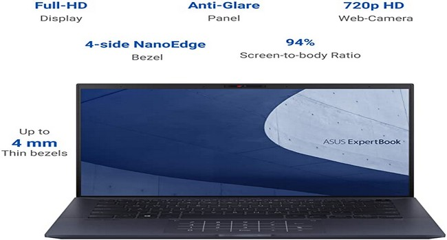 Asus ExpertBook B9 Features