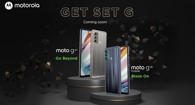 Moto G60 & Moto G40 Fusion Launched