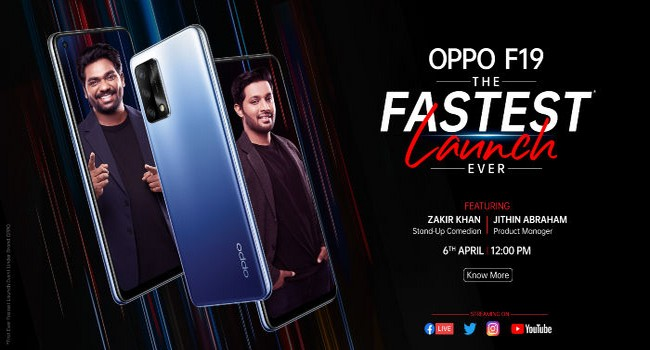 Oppo F19 Launched