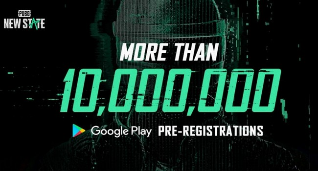 PUBG New State Gets More Than 10 Million Pre-Registrations In 2 Months