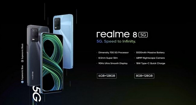 Realme 8 5G Features