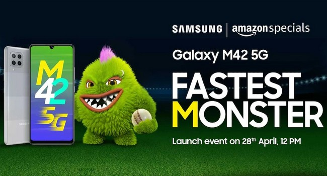 Samsung Galaxy M42 5G Launched