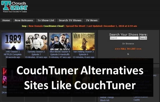 CouchTuner Alternatives - Sites Like CouchTuner
