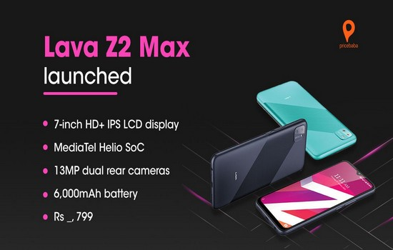 Lava Z2 Max Specifications