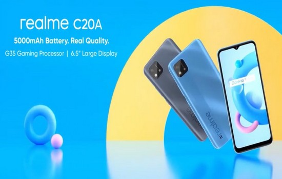 Realme C20A Launched