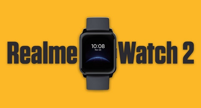 Realme Watch 2 Launched