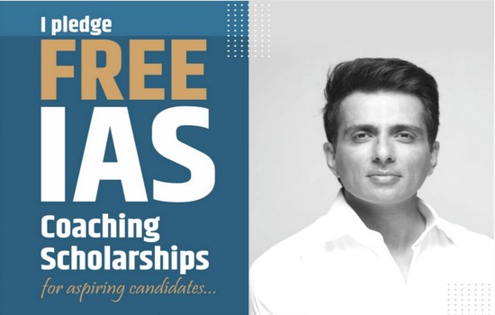 1 Lakh+ Registrations For Sonu Sood's IAS Coaching Scholarships