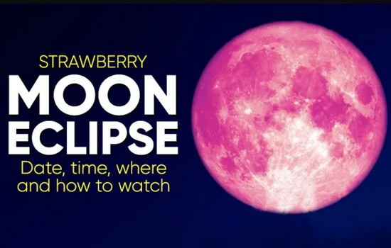 Strawberry Moon Date and Time