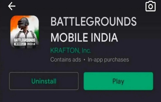 Battlegrounds Mobile India Play Store Link