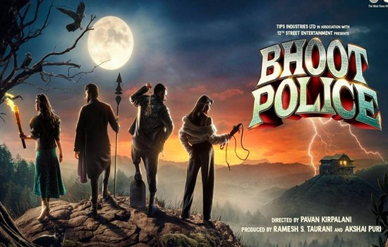 Bhoot Police Poster