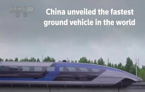 Fastest Ground Vehicle In The World Maglev Train