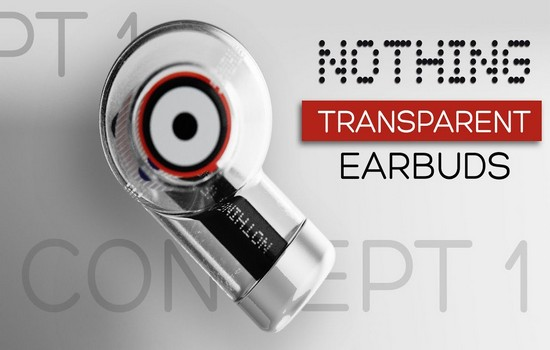 Nothing Ear 1 Transparent Earbuds