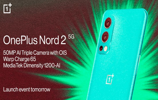 OnePlus Nord 2 5G Launch Date