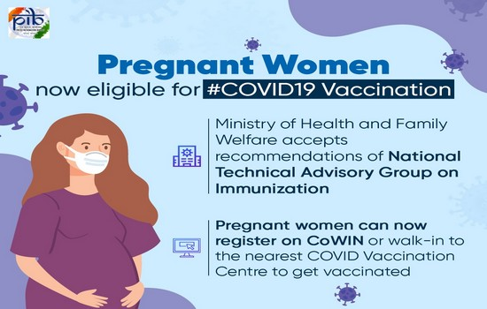 Pregnant Women Now Eligible For Covid-19 Vaccine