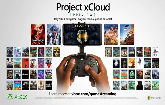 Project Xbox Cloud Gaming