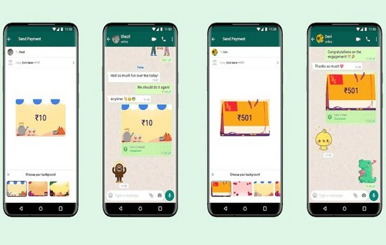 WhatsApp India Payment Background