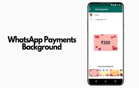 WhatsApp Payments Background